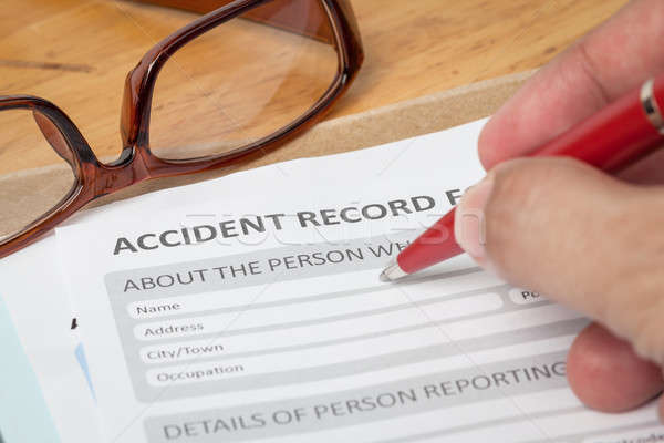Accident at Work Claim Form